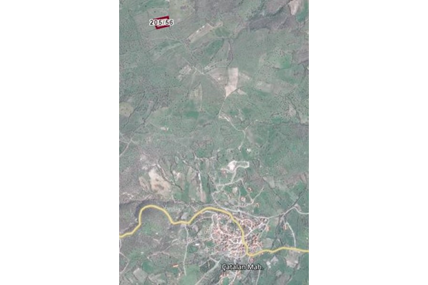 BALIKESİR İVRİNDİ ÇATALANDA 4.397 M2 TARLA